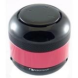 NAKAMICHI Bluetooth Speaker with FM Radio [NBS 2N] - Black/Red - Speaker Bluetooth & Wireless